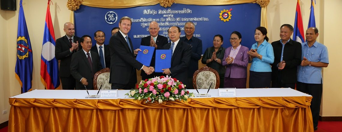 GE to Open Office in Laos, Help Build Skills and Regional Connectivity