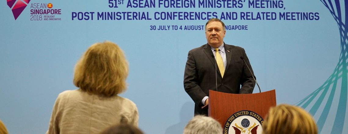 U.S. Secretary of State Mike Pompeo's Remarks at the U.S.-ASEAN Ministerial Meeting