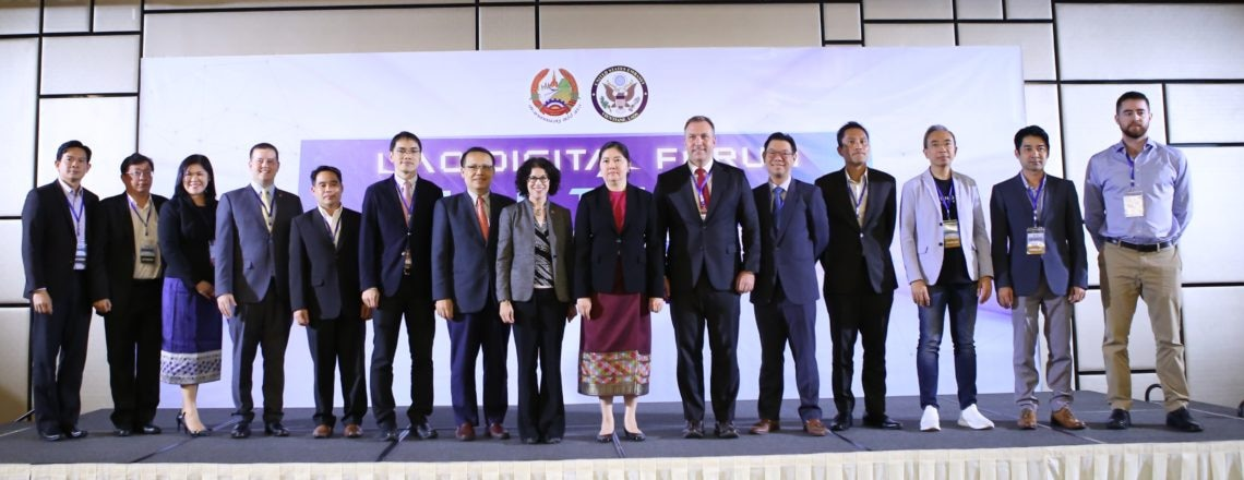 U.S. Embassy-Hosted Lao Digital Forum Highlights Financial Technology