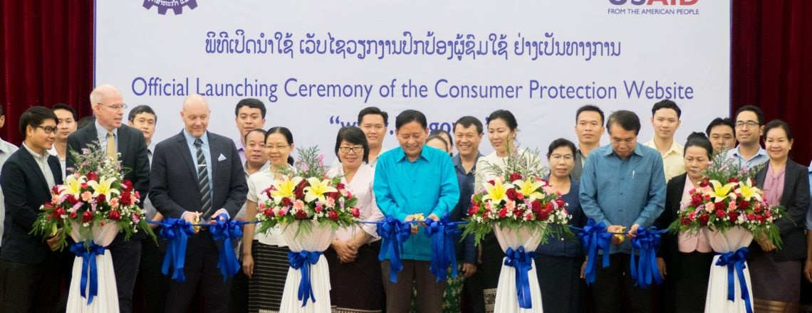 Laos and United States Launch Consumer Protection Website