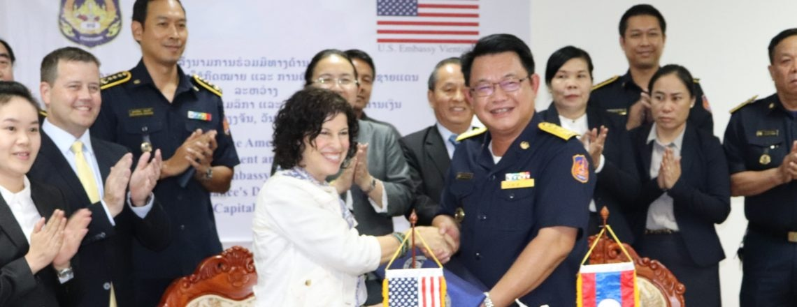 United States Supports Lao Government to Strengthen Law Enforcement and Border Security