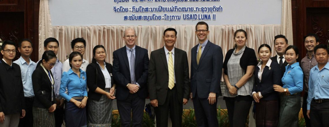 United States Supports Lao Government to Develop Digital Law App