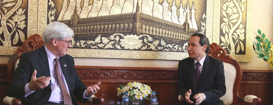 Senior U.S. Official Meets with Lao Government to Discuss Indo-Pacific Strategy