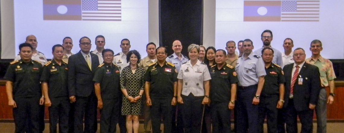 United States and Lao PDR Conduct Thirteenth Annual Bilateral Defense Dialogue