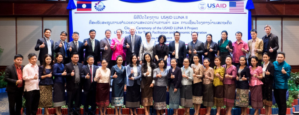 US and Laos Celebrate 5 Years' Cooperation on Trade Facilitation and Economic Integration
